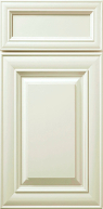 Hudson Antique White Cabinet