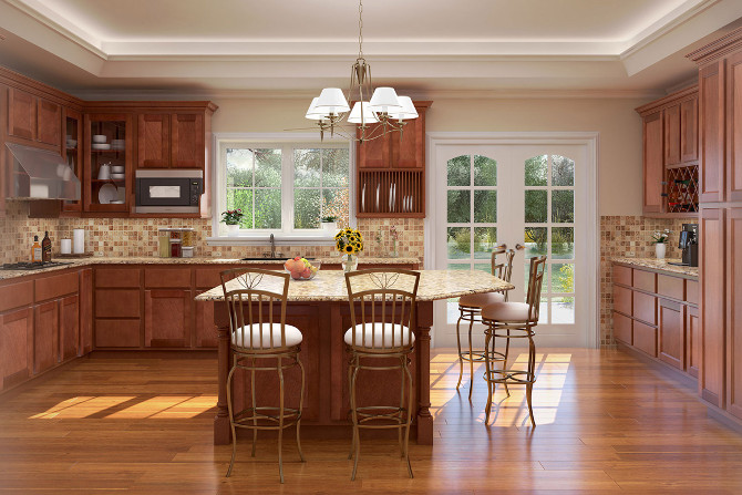 Ridgefield Rose Kitchen
