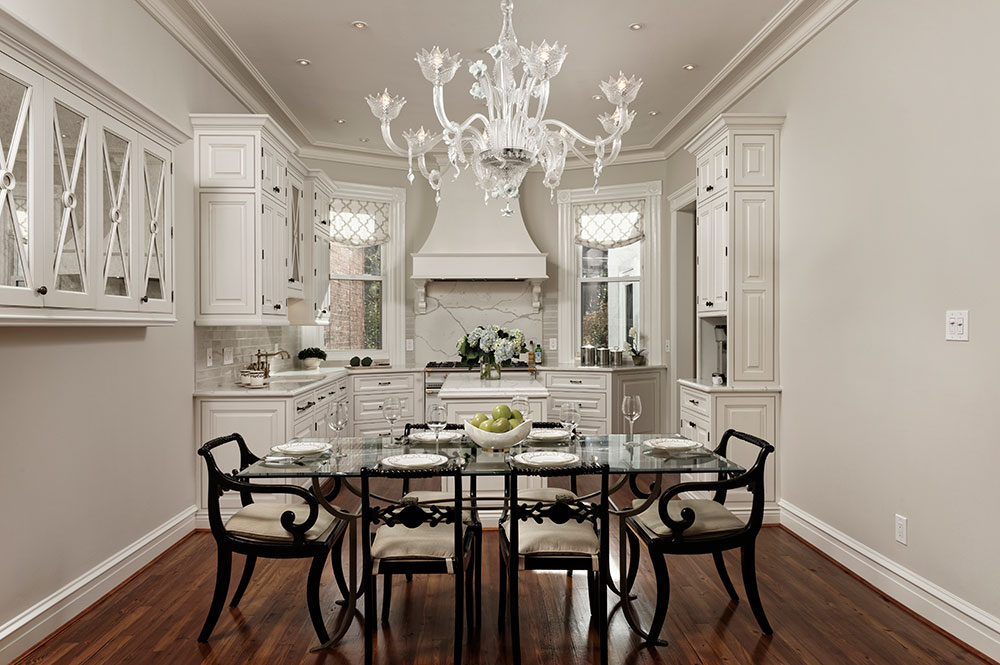 White High End Kitchen