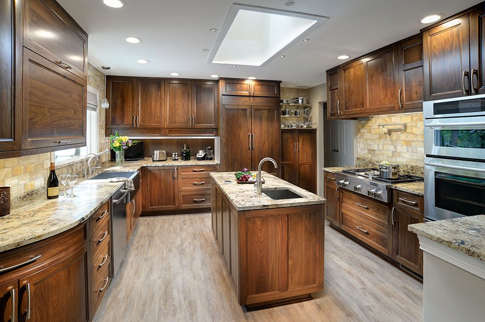High End Custom Wood Kitchen